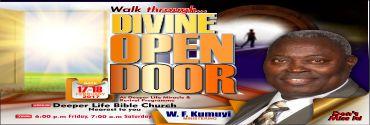February - Divine Open Door