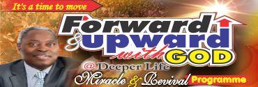 May - Forward and Upward with God